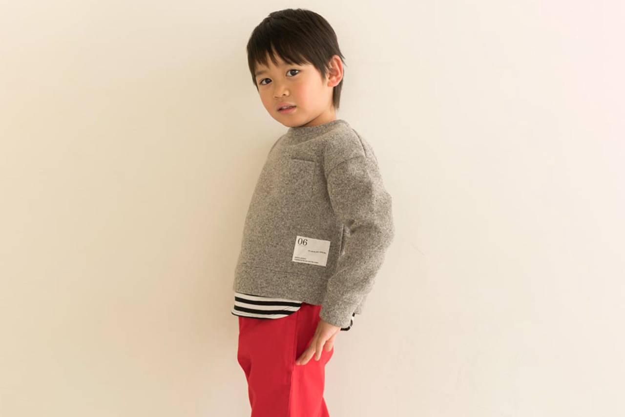 【秋冬】動きやすい男の子のお散歩コーデ。さり気ないおしゃれを目指す