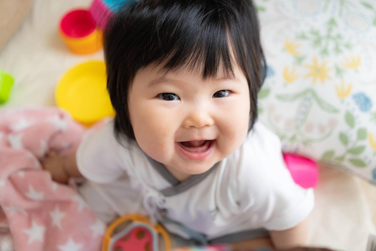 赤ちゃんが笑うとどんな影響がある?赤ちゃんの笑いと成長の関係