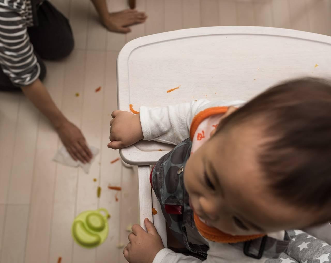 子どもは汚すのが仕事!ママのイライラを減らすためにできる工夫