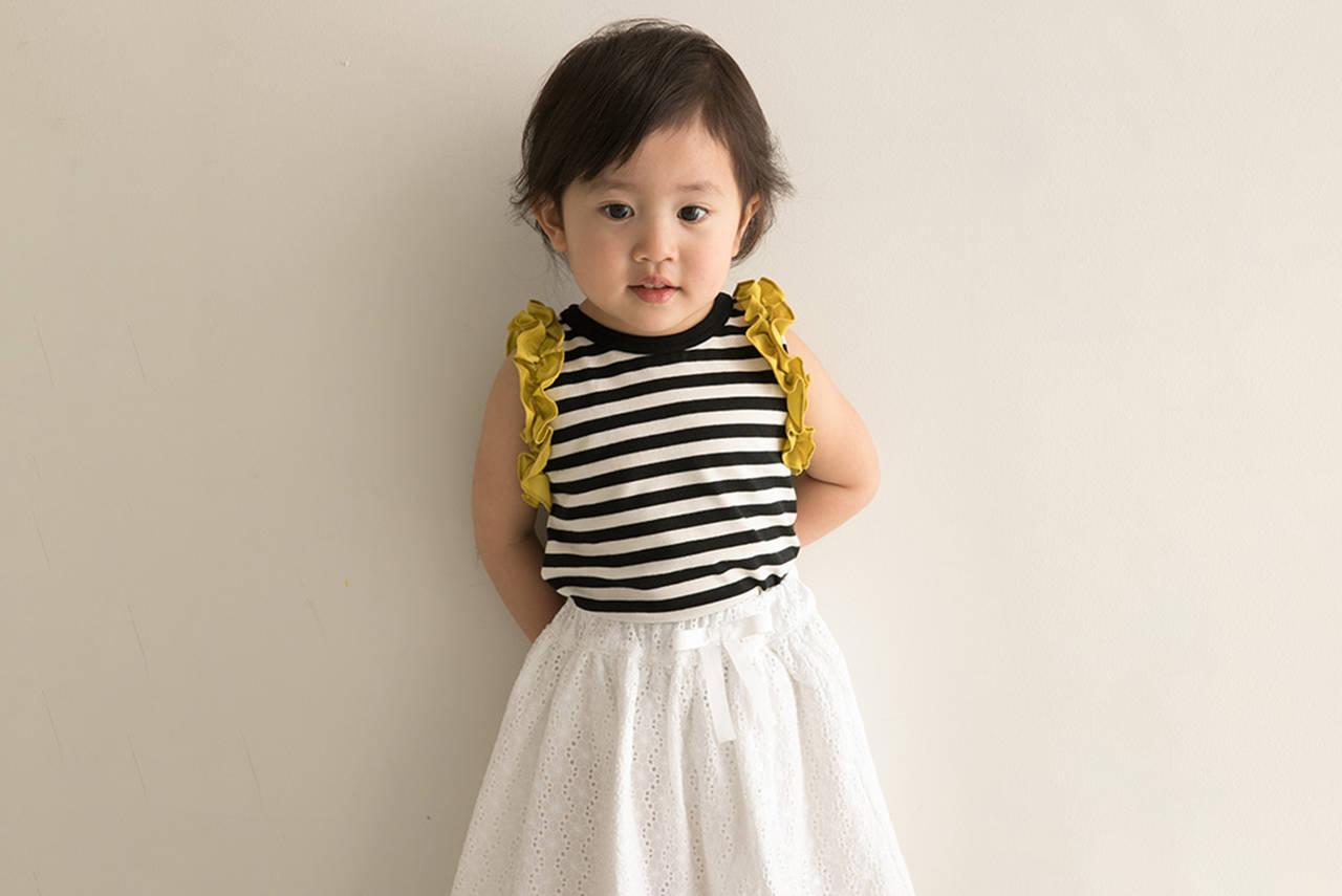 もっと可愛くスカートを合わせたい!女の子の春夏キッズコーデ
