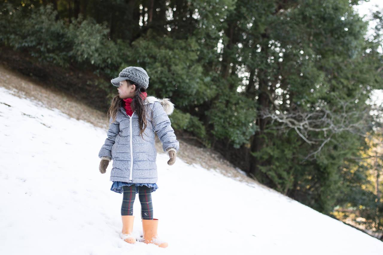 冬場の子どもの服装選び!ポイントや外出時の防寒具について知ろう