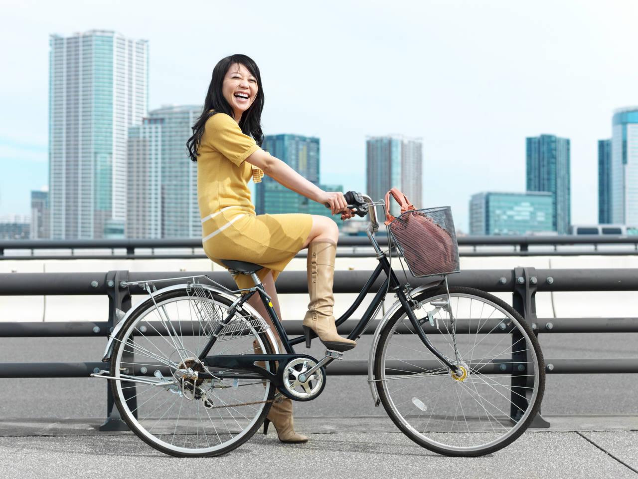 ママチャリサイクリングで健康に!ダイエット効率があがるコツも紹介