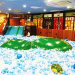 【東京】ボールプール温泉?銭湯みたいな室内遊び場「こどもの湯」