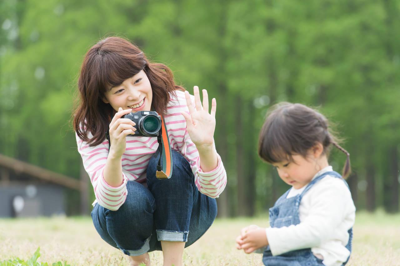 写真の撮り方がうまくなりたいママ必見!子どもを撮るコツや注意点
