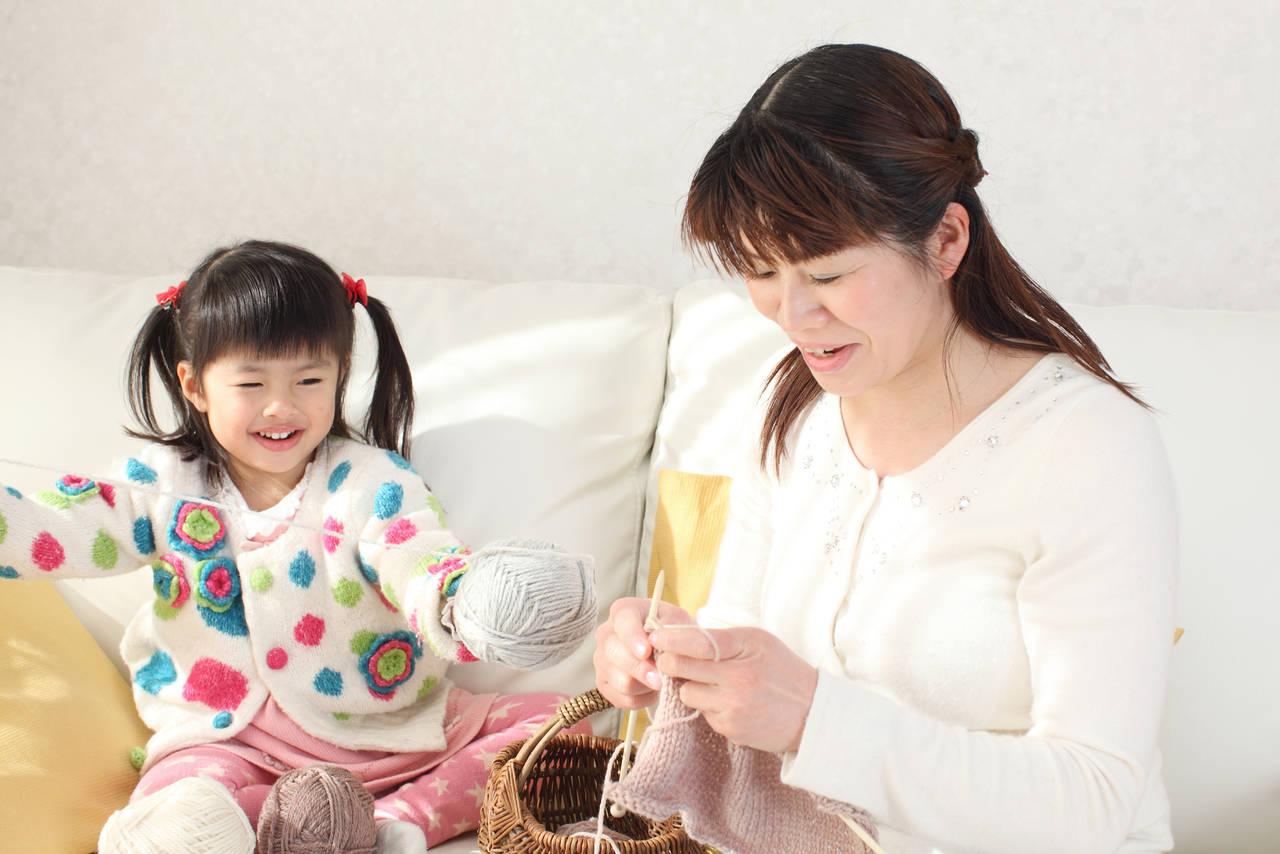 子育てママは趣味の手芸でストレス解消!子どもと楽しむ手芸を紹介