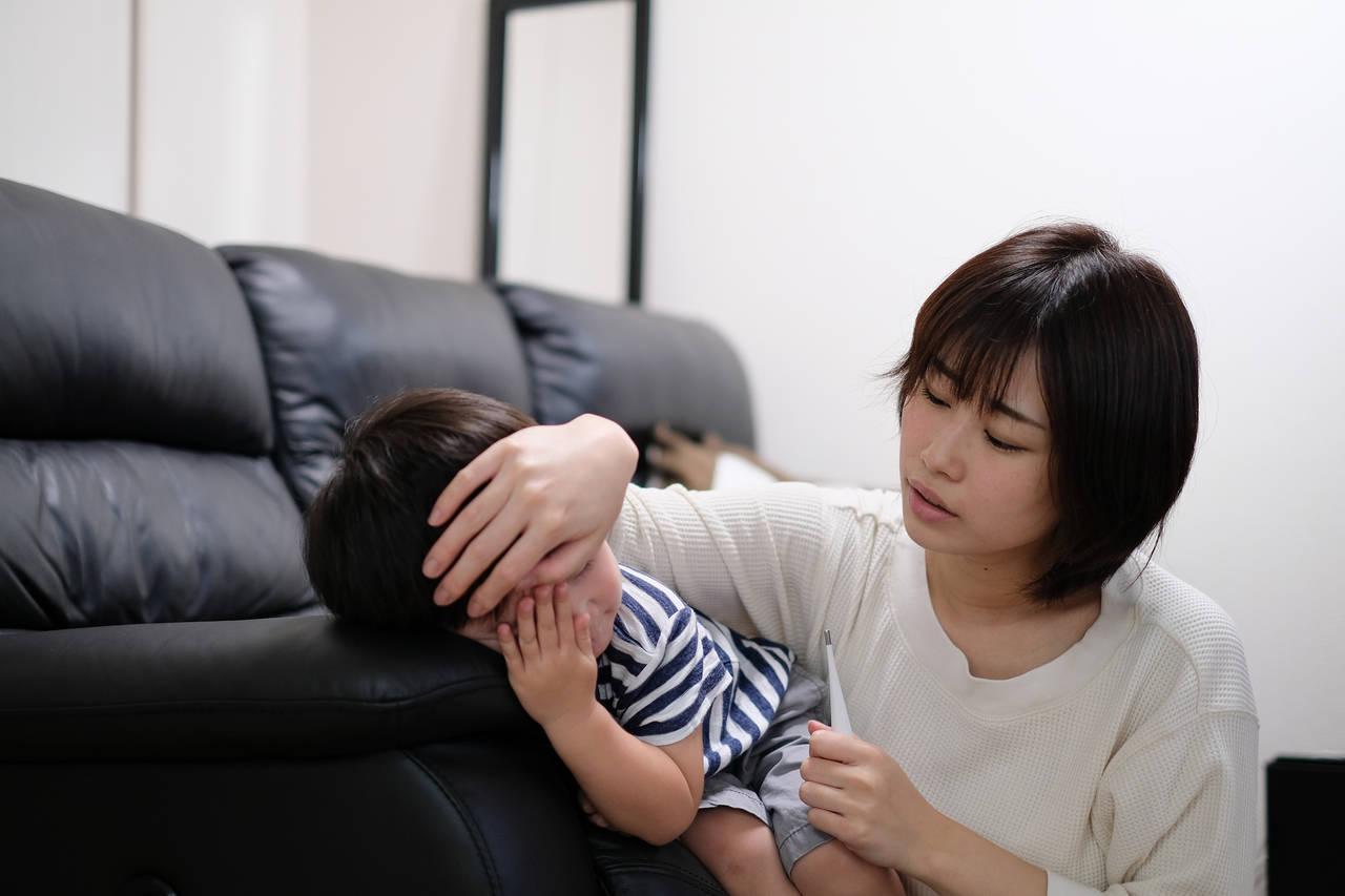 子どもが冬にかかりやすい病気!流行する感染症とその予防法