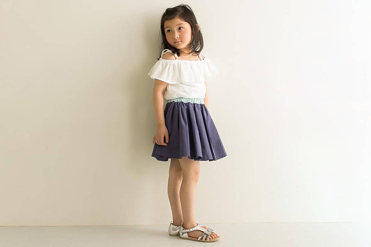 女の子の春夏コーデは白で魅力アップ!わが子の可愛さを引き出そう