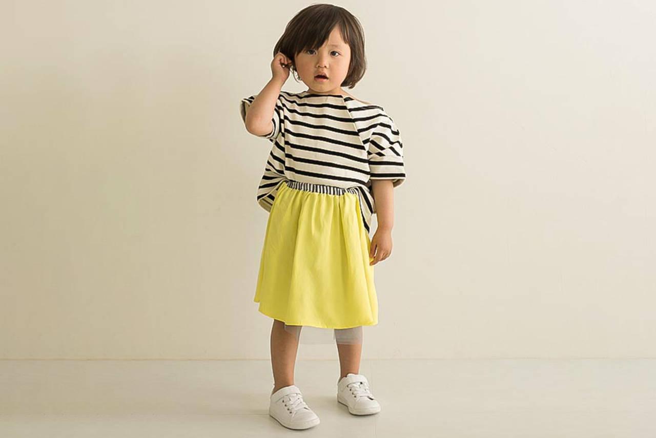 春夏らしい黄色を女の子コーデに!優しいスタイリングを楽しもう