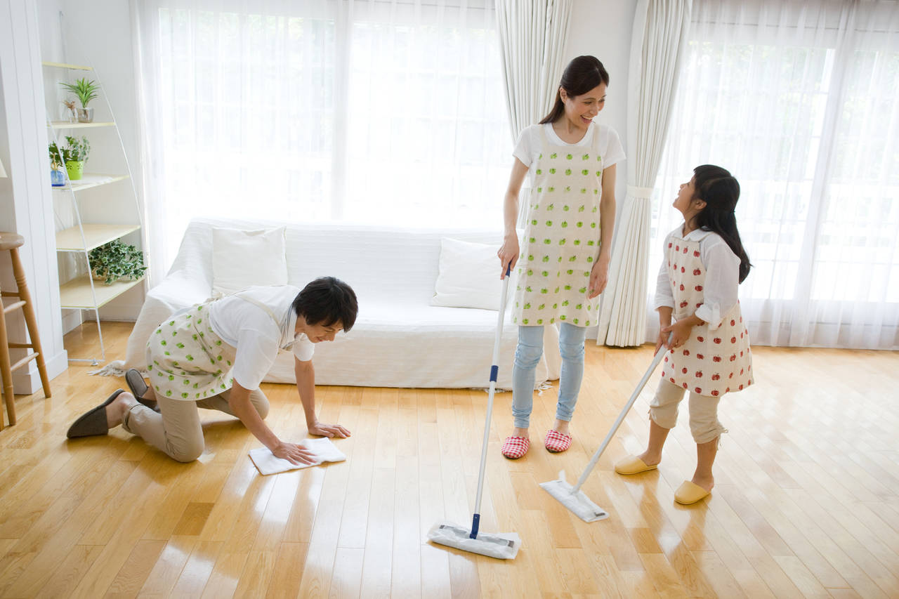 共働き家庭は土日に家事をしよう!忙しいママに時短家事を紹介