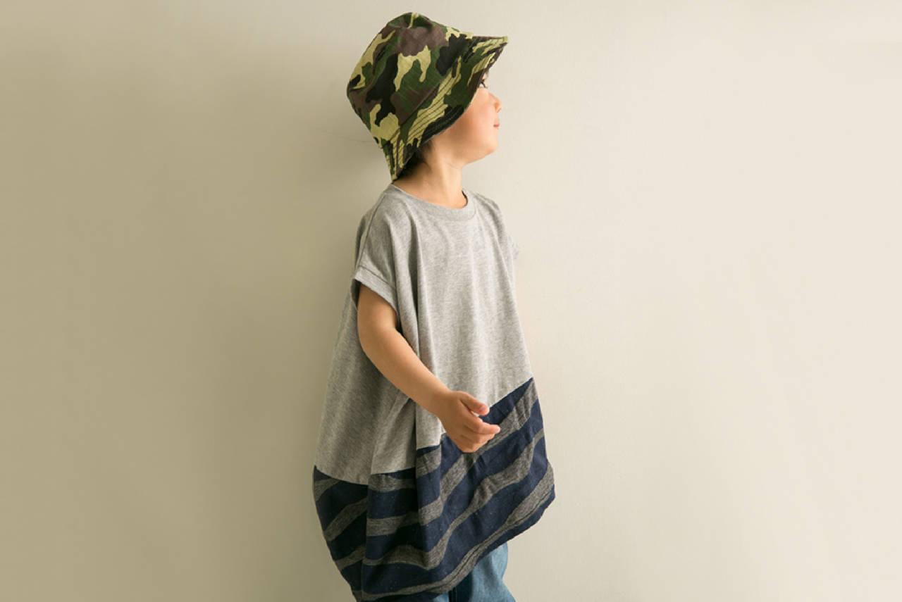 春夏の男の子のお散歩コーデ!帽子を使って雰囲気づくりをしよう