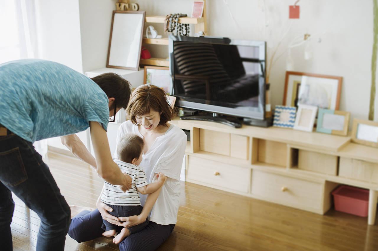 赤ちゃんとのアパート暮らしで技アリ収納!安全おしゃれなお部屋作り