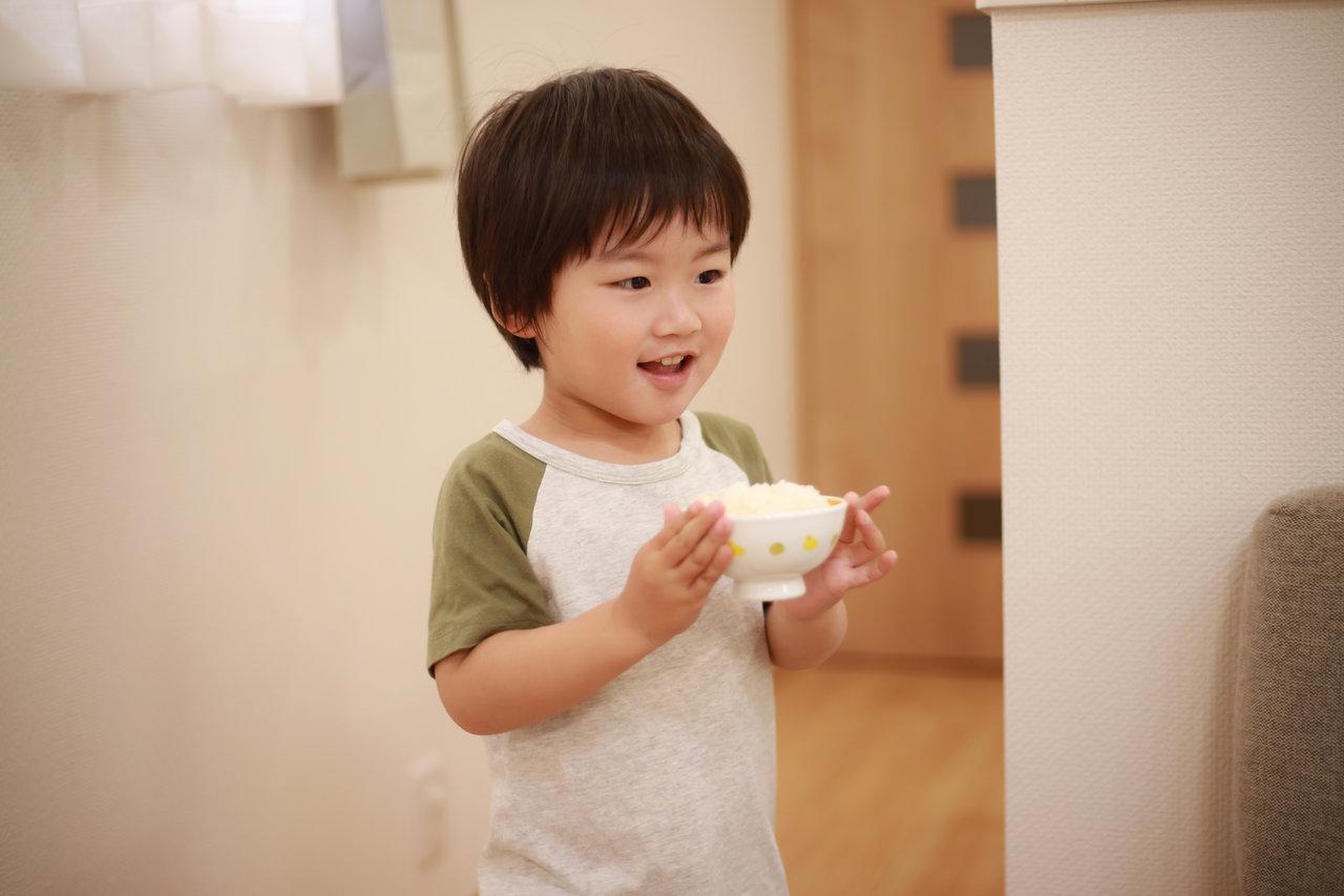 子どもが米ばかり食べ過ぎる!バランスよく食べる方法や肥満の予防策