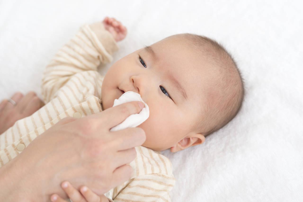 赤ちゃんのガーゼは手洗いするの?汚れをすっきりさせて長持ちさせる