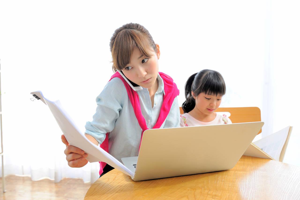 育児中の在宅ワークは意外と大変!家の仕事をおろそかにしない働き方