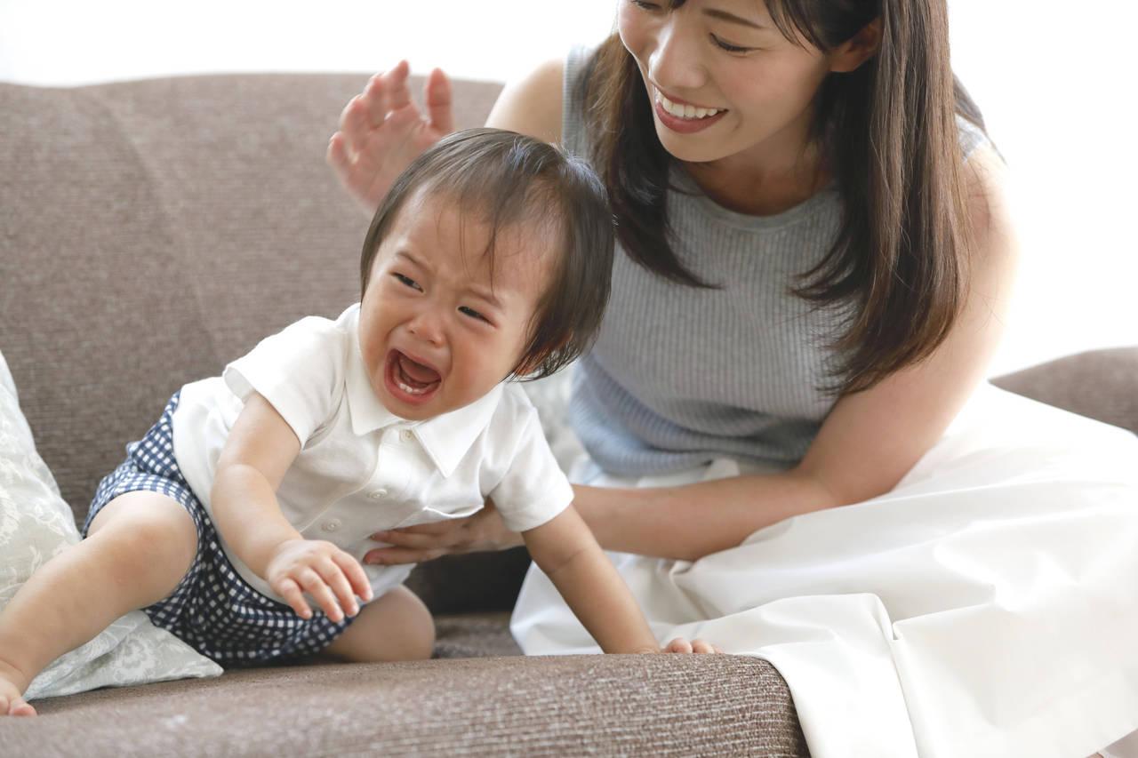 赤ちゃんがママに怒る理由とは?自我の芽生えの時期の上手な対処法