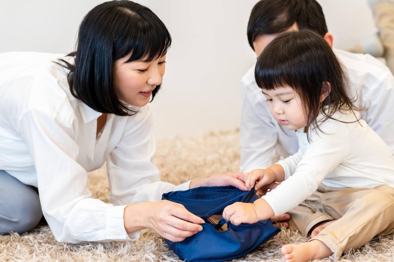 子どもの片付けを習慣化したい。モンテッソーリ教育の収納方法とは?