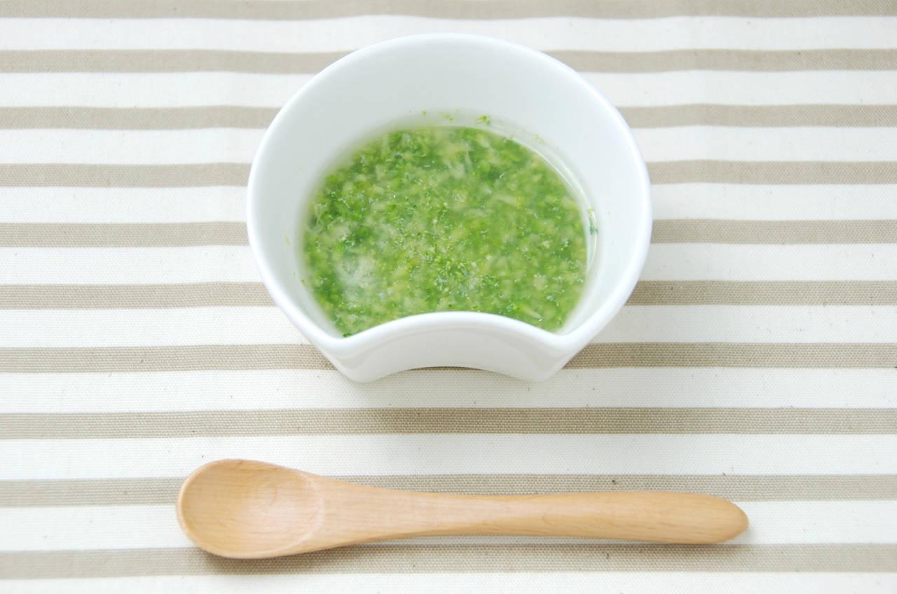 離乳食に緑の野菜をどう取り入れる?おすすめ野菜や調理のコツ