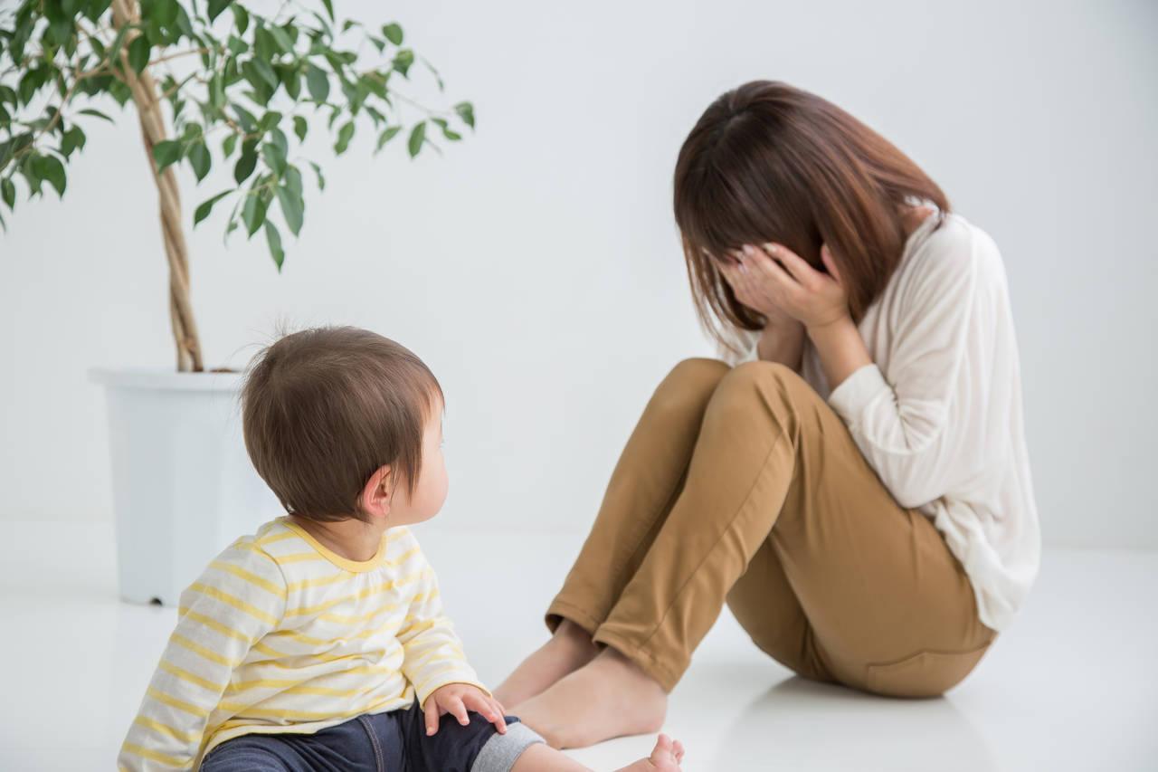 育児うつになる原因はなに?知っておきたい性格や環境との関係