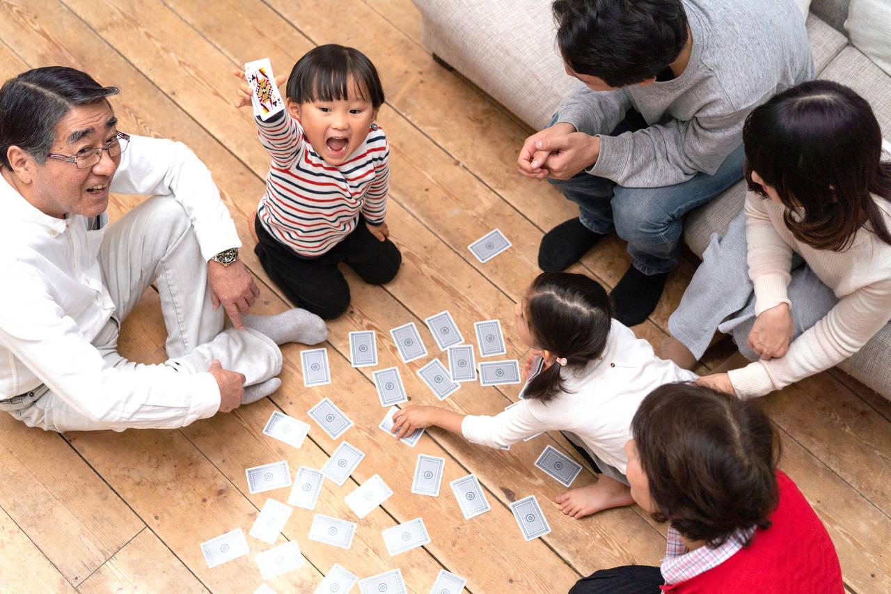 5歳児と盛り上がるトランプの遊び方は?おすすめの遊びと嬉しい効果