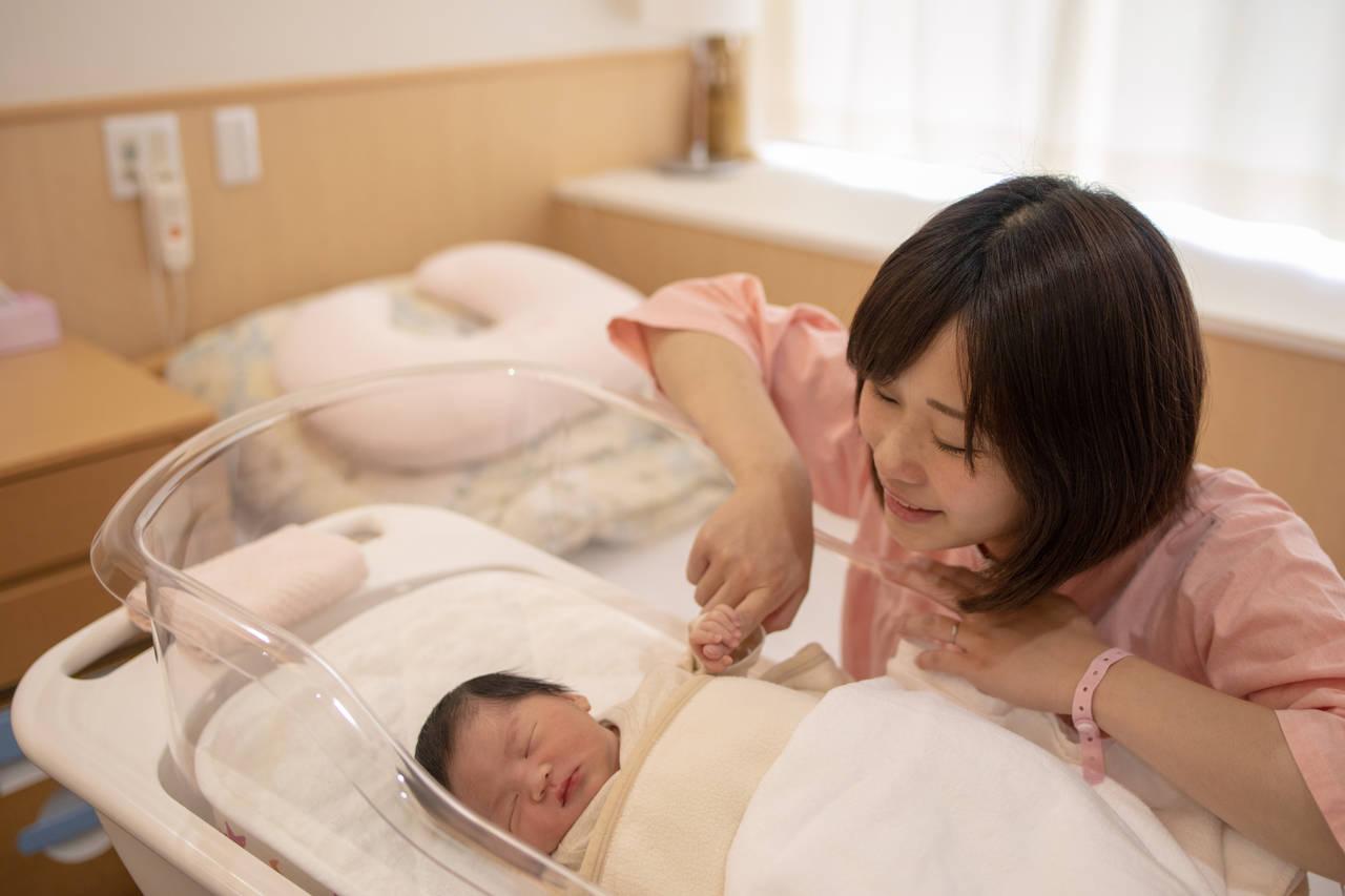 赤ちゃんと母子同室が不安なママ!母子同室の流れやポイントについて