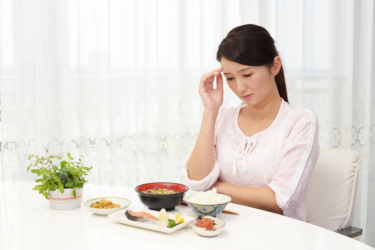 40代の食欲低下の原因は冷え症?ためになる改善策を試してみよう