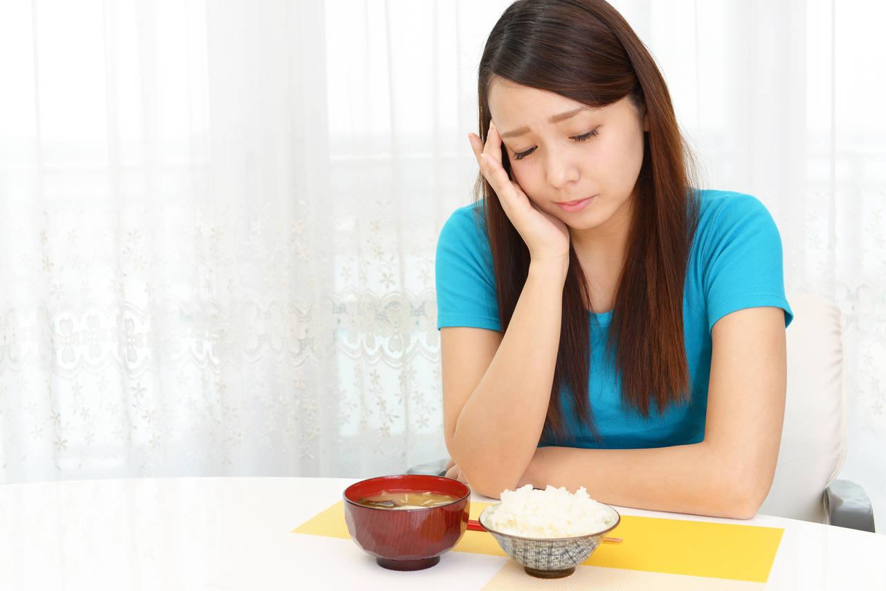 食欲低下に悩む20代のママへ!よくある原因とストレスの解消法