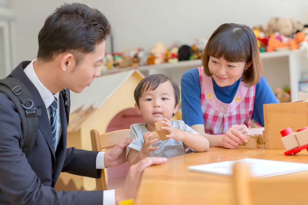 保育園は父子家庭の心強い味方!入園方法やパパの仕事と育児の両立術