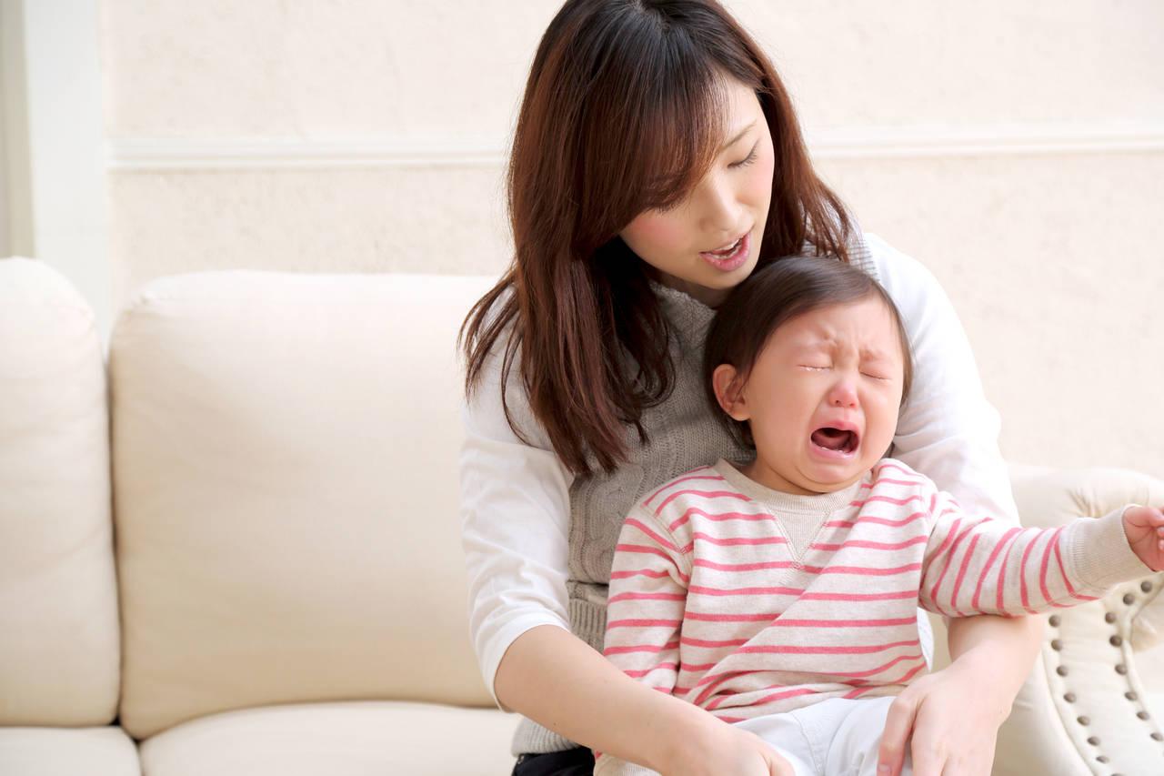 1歳の子どもの上手なあやし方!泣き止まない理由と危険な症状