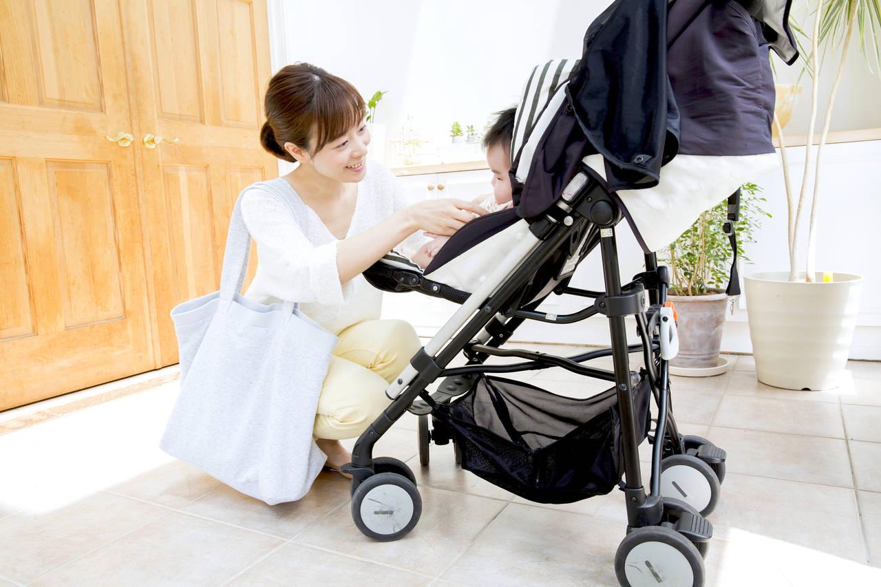 赤ちゃんと負担少なく外出しよう!ベビーカーや抱っこ紐の注意点