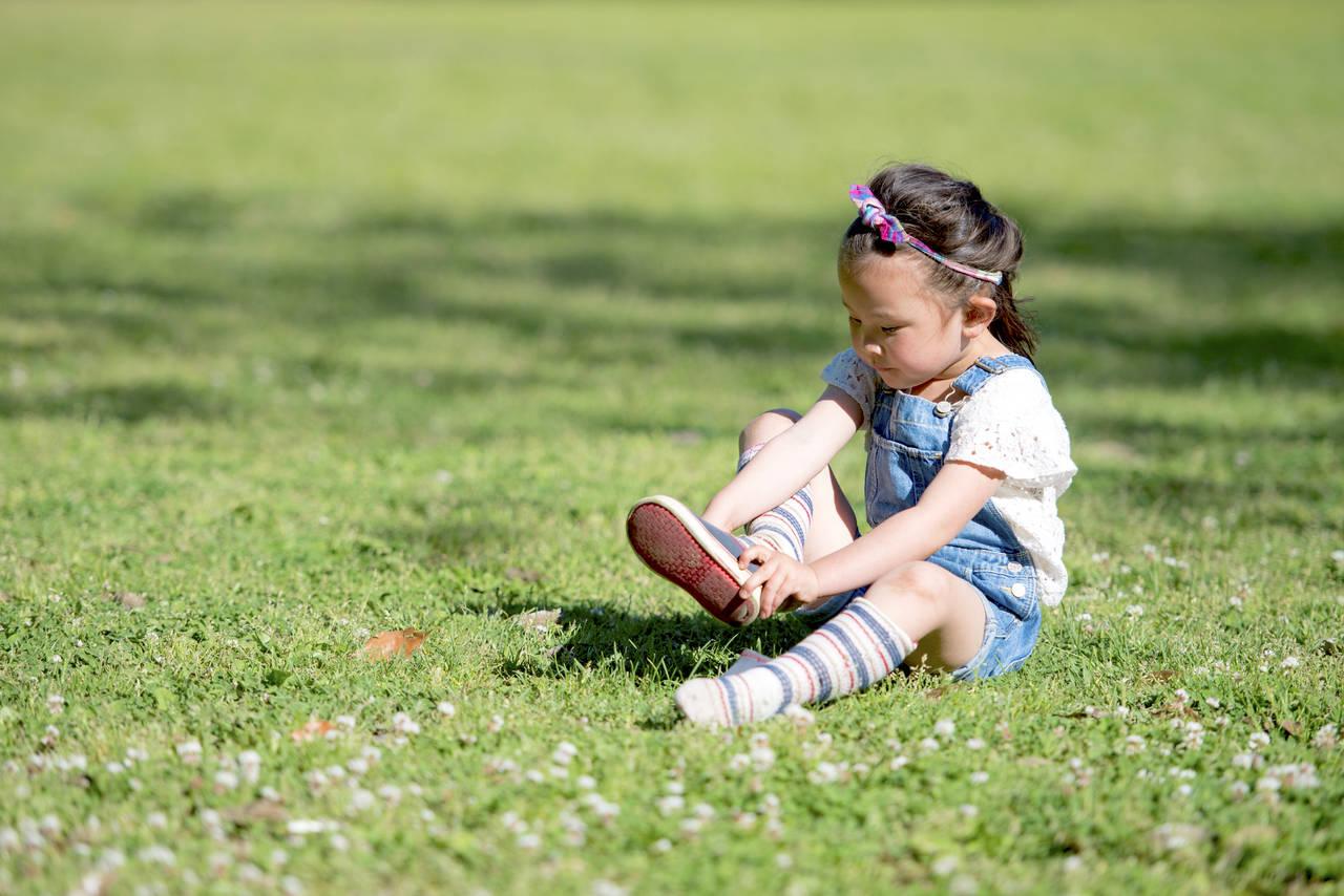 4歳児の足のサイズを知ろう!合わない靴の危険性と靴選びのコツ