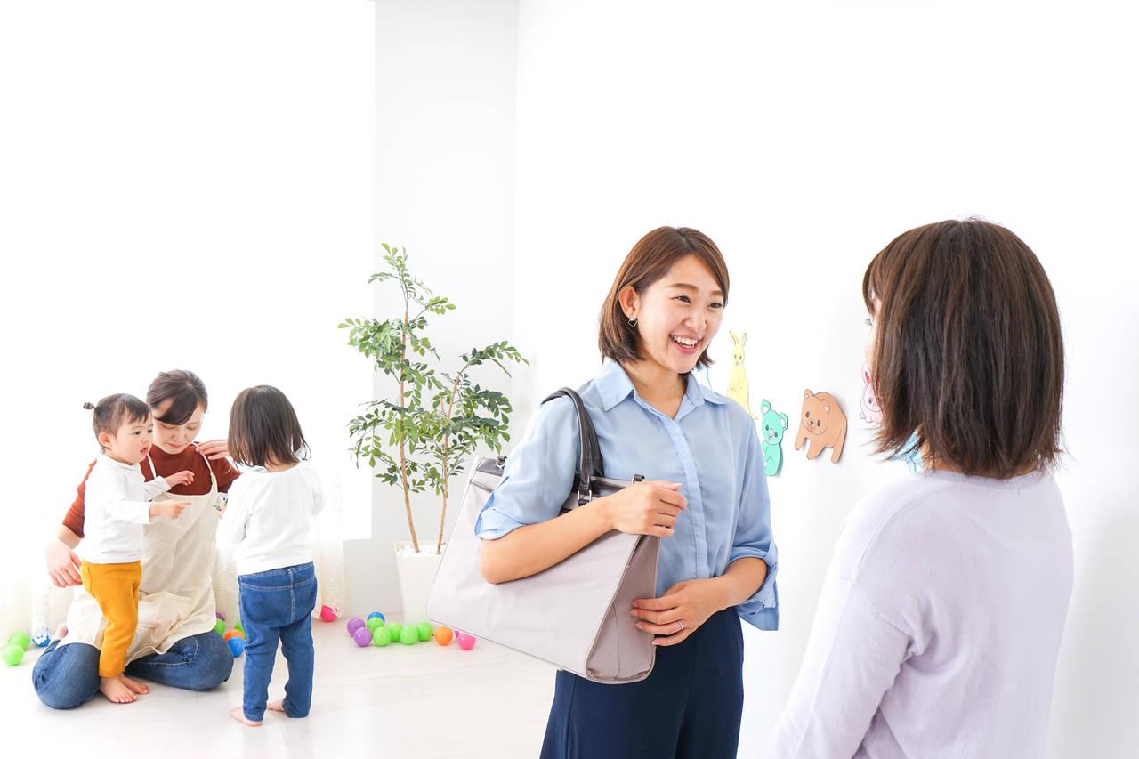 保育園の送り迎えで会話に悩む!ママ友とうまく付き合うコツと注意点