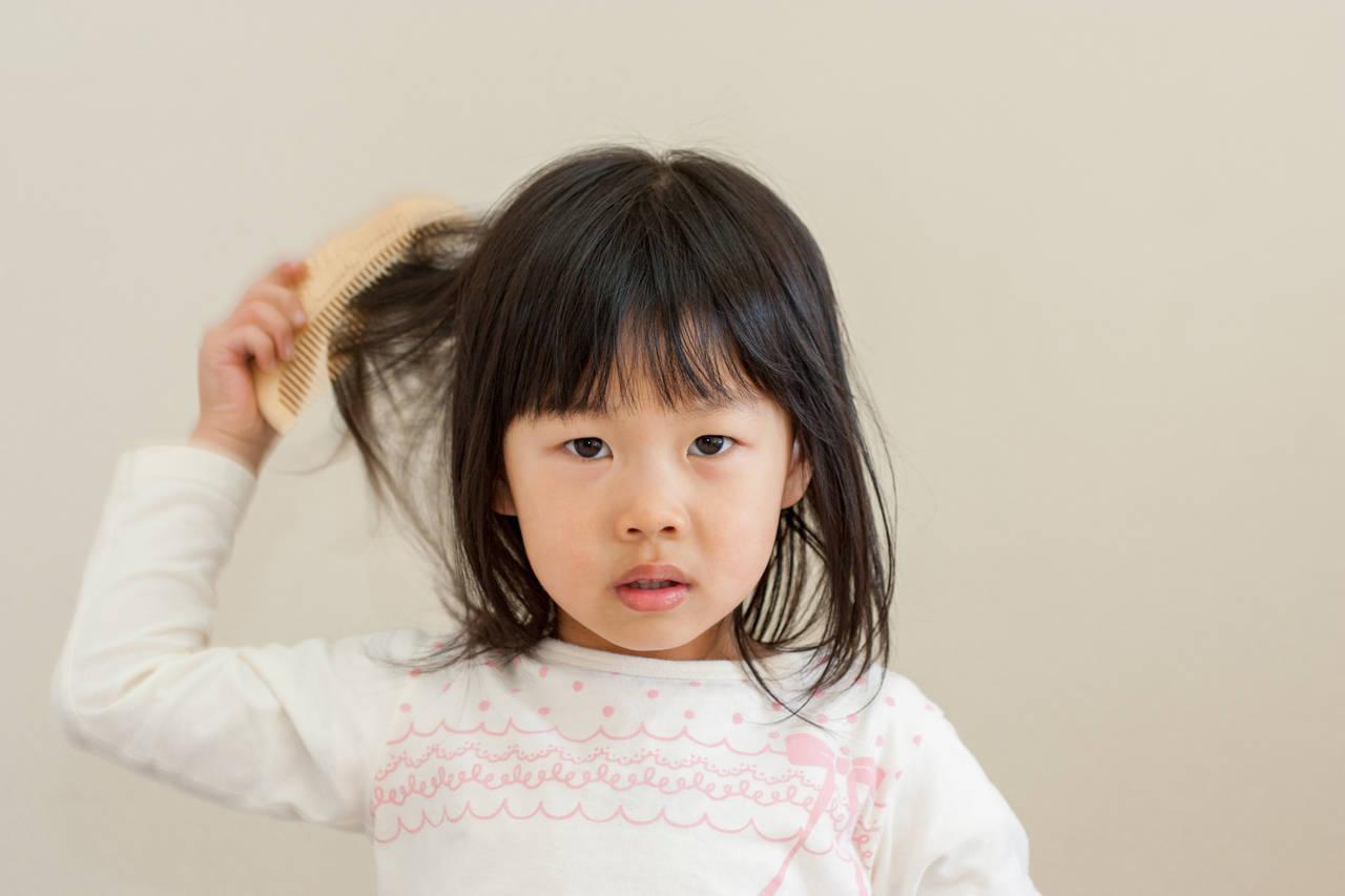 3歳児の髪の毛が絡まるのはなぜ?原因やママが簡単にできる対処法