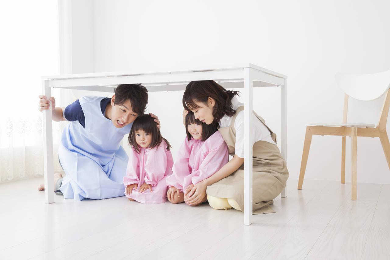 保育園の避難訓練の内容は?目的を知って家庭の防災に活用しよう