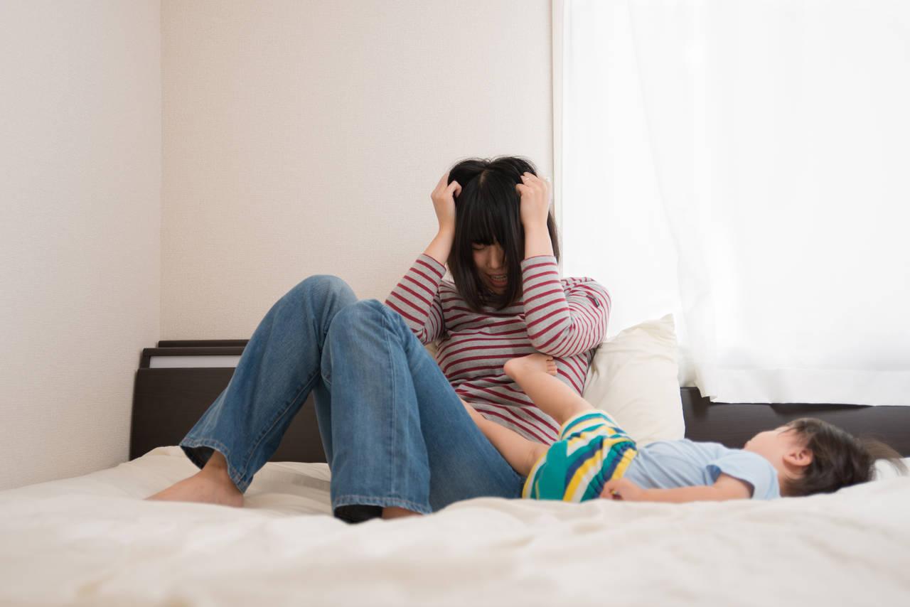 子育てに育児ストレスを感じる!育児ノイローゼの原因と向き合い方