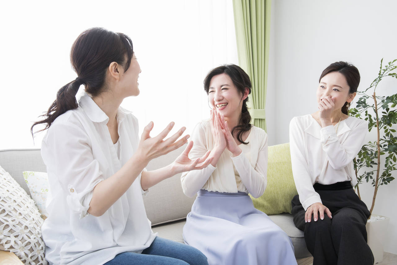 50代ママの会話から見える印象!周りを意識しつつ大人ママになろう