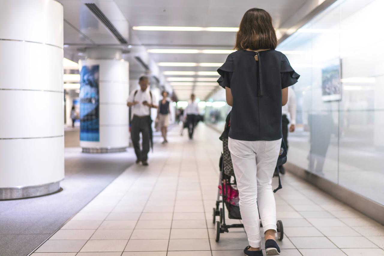 博多駅ならベビーカーでも安心!小さな子どもが楽しめる遊び場も