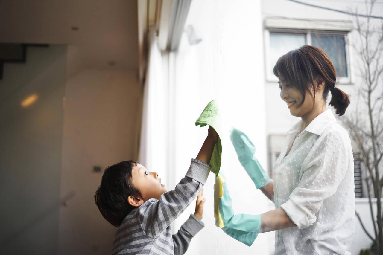 年末大掃除で運気をアップさせよう!きれいな部屋で子どもの運も向上