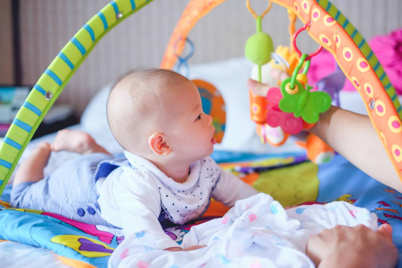 おしゃれなベビージムが欲しい!赤ちゃんへの効果や選び方について