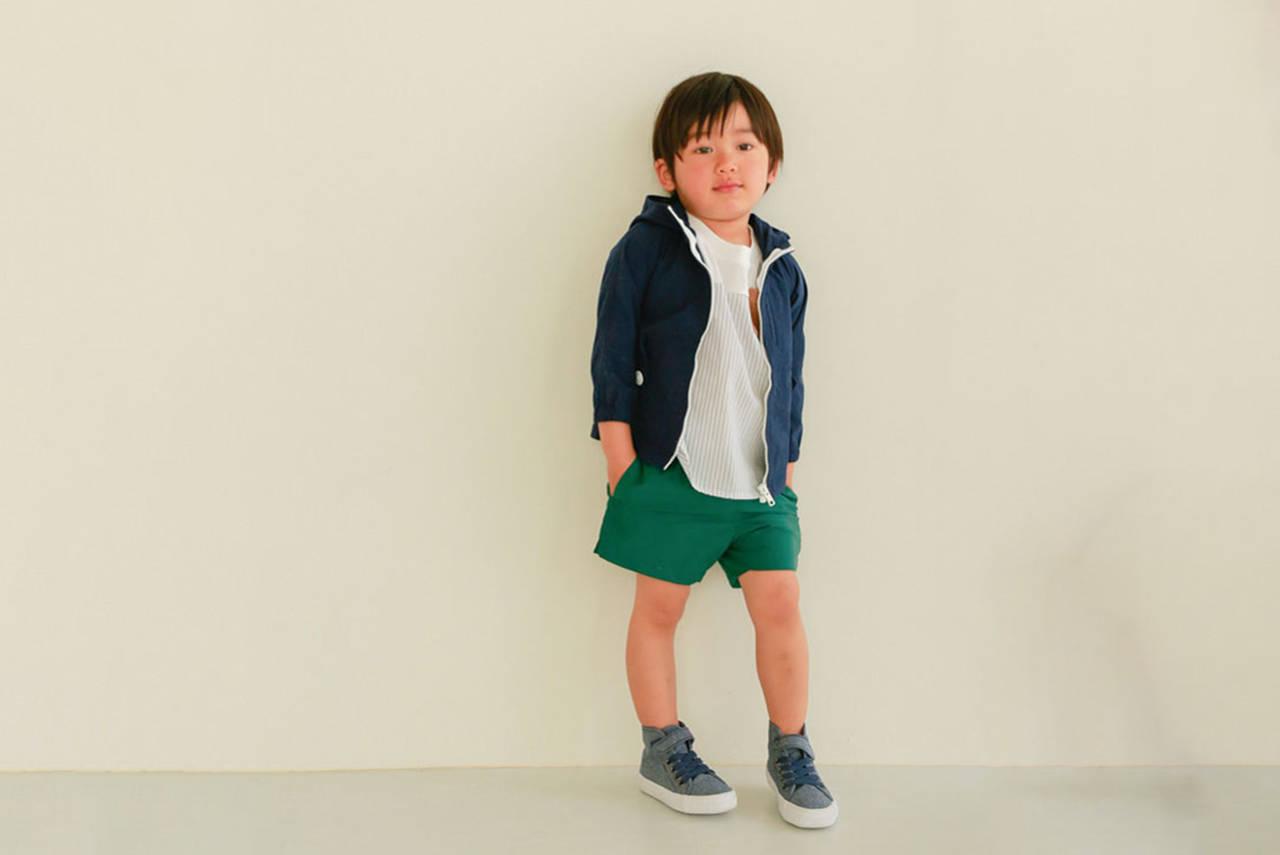 旅行のとき男の子に着せたい春夏服!寒暖差にも対応の春夏旅行コーデ