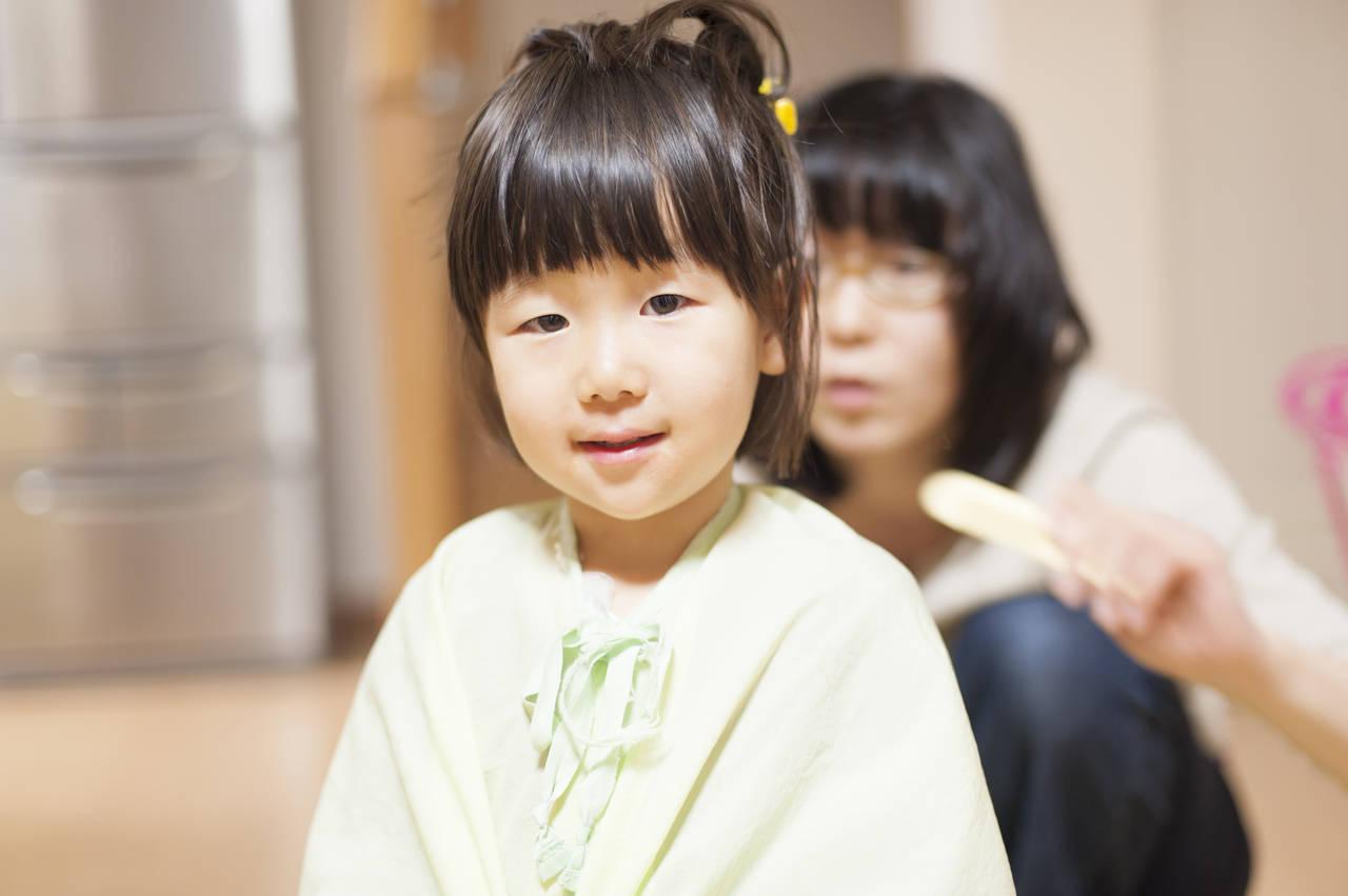 3歳女の子の髪の毛をカットしたい!おすすめのヘアスタイルやコツ