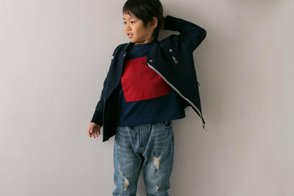 男の子の秋冬スタイルに新提案!差し色コーデで寒さを吹き飛ばそう