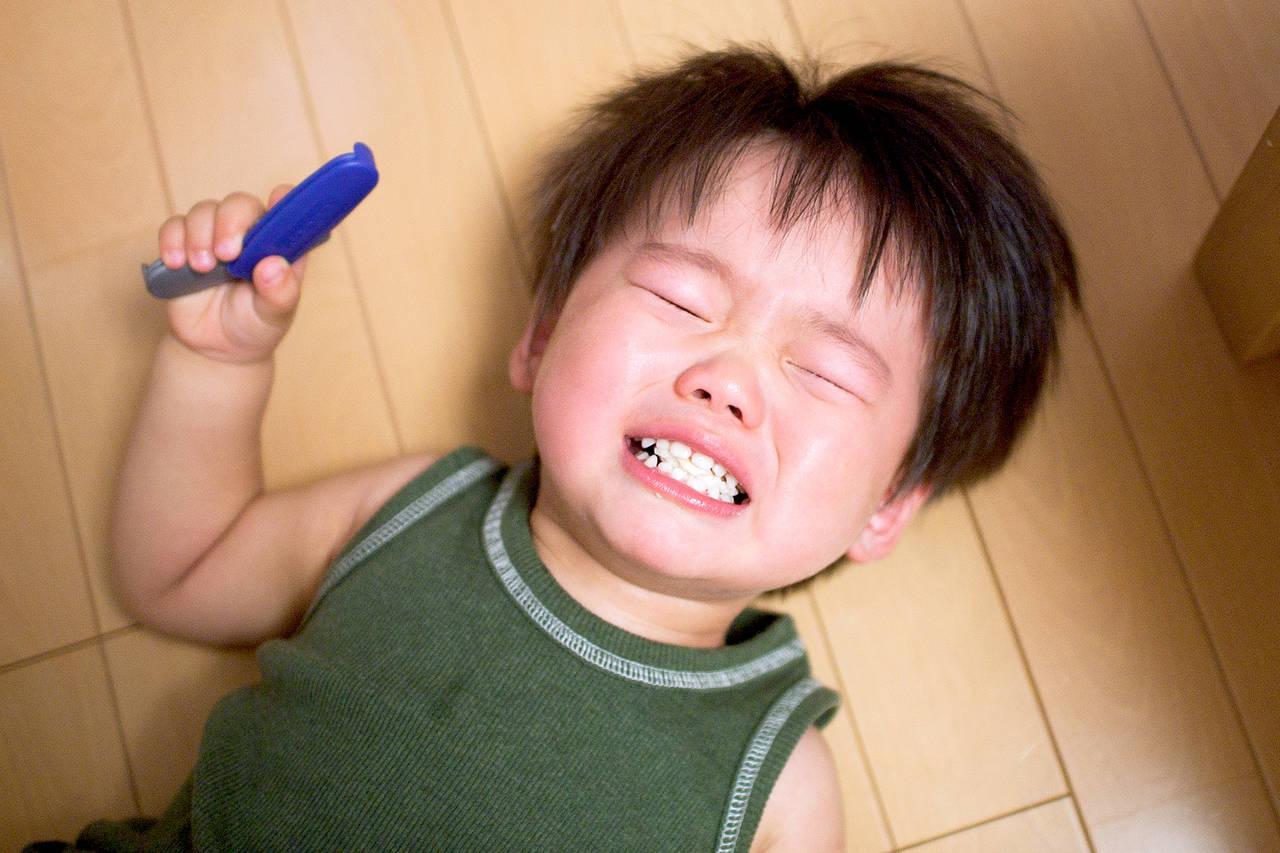 3歳児のかんしゃくがひどくて大変!原因と子どもに寄り添う対処法
