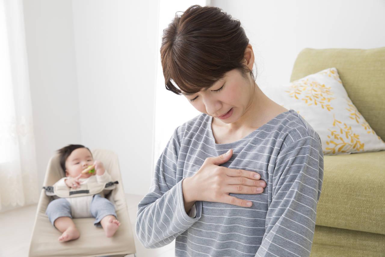 差し乳で痛いと感じる原因とは。母乳が作られる状態や痛みの原因まで