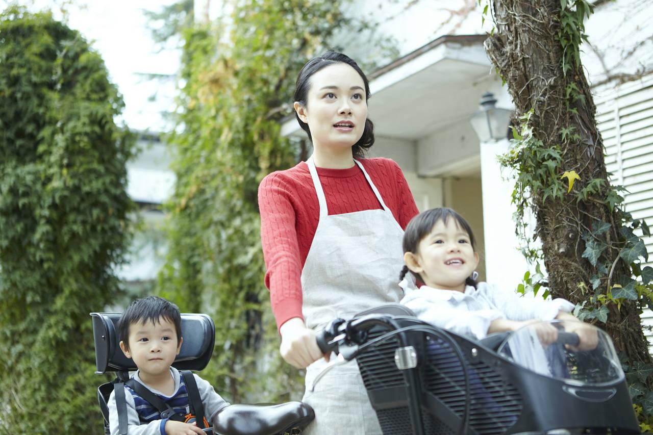 子ども乗せ自転車の事故が増加中?ママが安全に自転車に乗るポイント