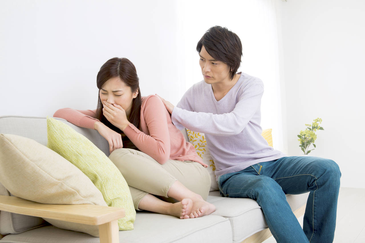 つわり中パパに休暇をとってもらえる?妊娠中のママがパパに望むこと