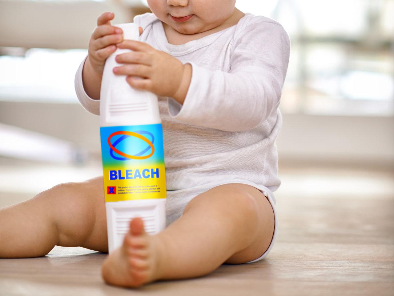 塩素系漂白剤の危険な扱い方とは?育児中のママが使うときの注意点