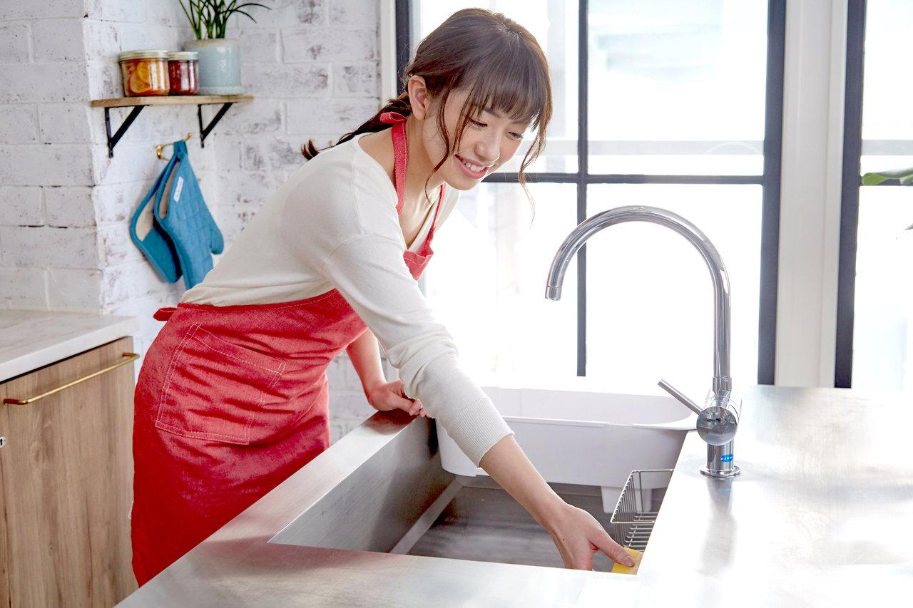シンクの掃除を極めたい!ストレス減の掃除方法とおすすめの道具