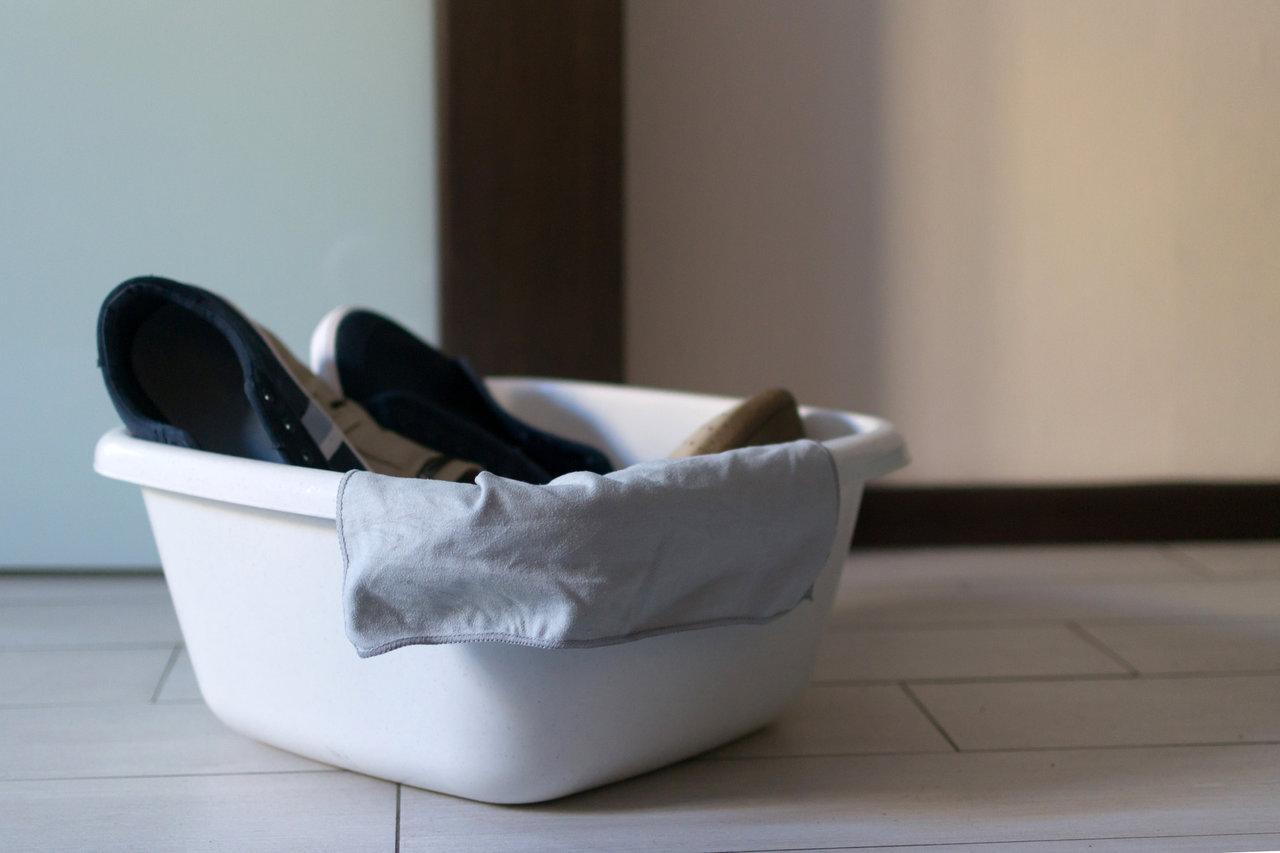 子どもの靴を漂白してきれいに!漂白剤の特徴や方法と注意点