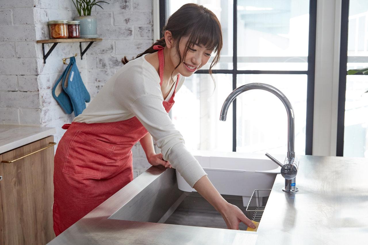 シンクの掃除を簡単に済ませたい!習慣化したいエコな掃除方法