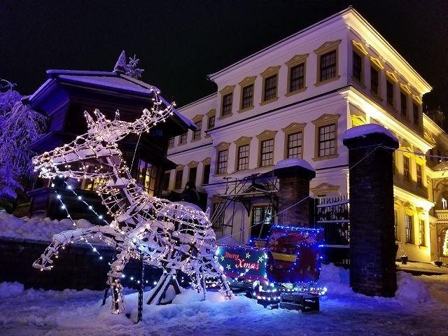 近代クリスマス発祥の地、秋田の小坂町で行われる冬のマーケット